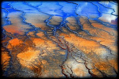 Photograph - Colorful Runoff by Kathy Sampson