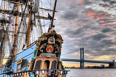 Pirate Ship Photograph - Colors by JC Findley