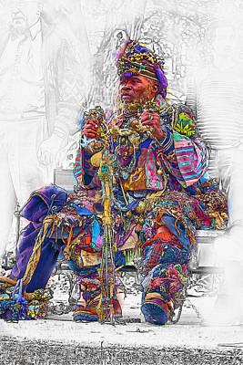 Asheville Mixed Media - Colors Of Asheville by John Haldane