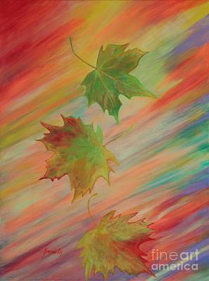 Colours Of Autumn. Inspirations Collection. Art Print