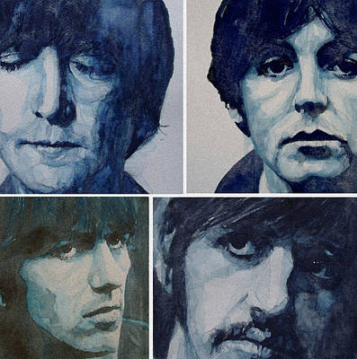 George Harrison Painting - Come Together by Paul Lovering