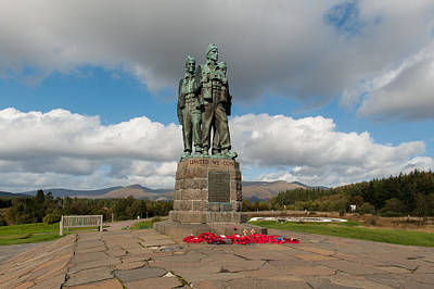 Photograph - Commando Memorial Spean Bridge by Gary Eason