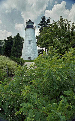 Concord Point Lighthouse Art Print by Skip Willits