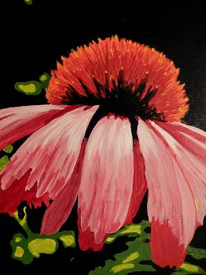 Painting - Cone Flower by Betty-Anne McDonald