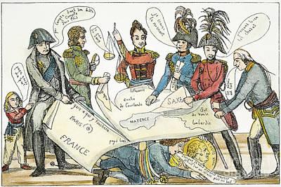 Congress Of Vienna 1815 Art Print by Granger