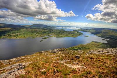 Beautiful Ireland Photograph - Connemara View by John Quinn