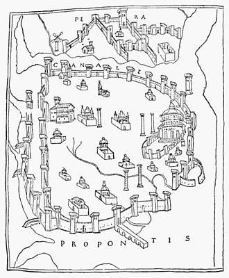 Constantinople, 1422 Art Print by Granger