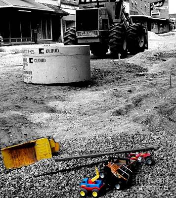 Construction Site Art Print by   Joe Beasley