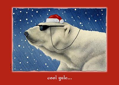 Winter Scene Painting - Cool Yule... by Will Bullas