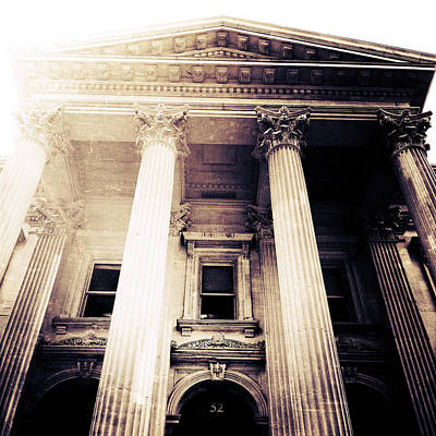 Greek Columns Digital Art - Corinthian Columns by Natasha Marco