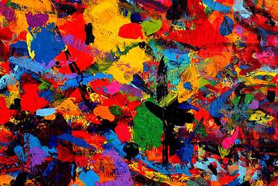 Abstract Expressionism Painting - Cornucopia by John  Nolan