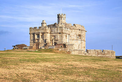 Cornwall Photograph - Cornwall - Pendennis Castle by Joana Kruse