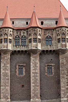 Romania Photograph - Corvin's Castle (corvinesti Or by Martin Zwick
