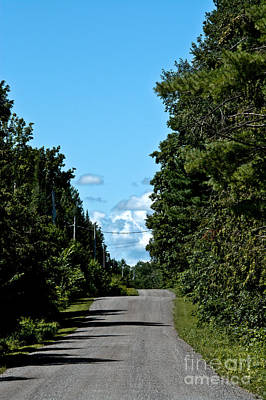 Photograph - Country Road by Cheryl Baxter