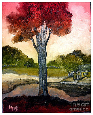 Painting - Countryside by Iris Gelbart