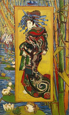 Courtesans Painting - Courtesan  by Mountain Dreams