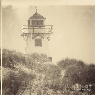 Covehead Light Art Print by Meg Lee Photography