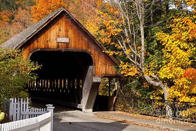 Photograph - Covered Bridge by Brian Jannsen