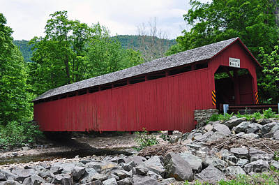 Photograph - Covered Bridge by Doug Heavlow