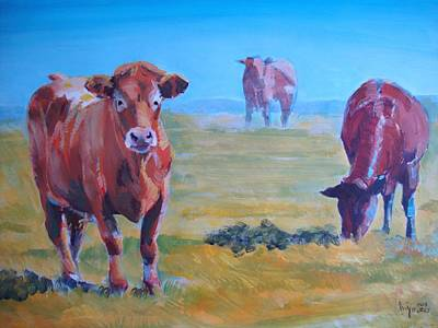 Cows Original by Mike Jory