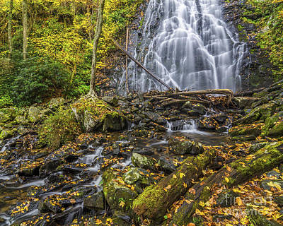 Photograph - Crabtree Falls by Anthony Heflin