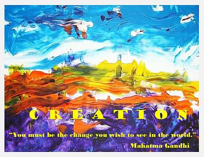 Mixed Media - Creation by Luz Elena Aponte
