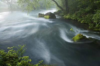 Photograph - Creek by Byron Jorjorian