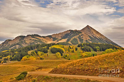 Photograph - Crested Butte Autumn by Kelly Black