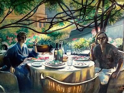 Croasdella And Geraldine Art Print