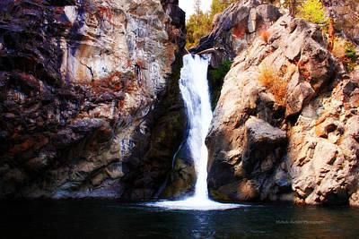 Crow Creek Falls Art Print