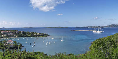 Photograph - Cruz Bay by Gordon Engebretson