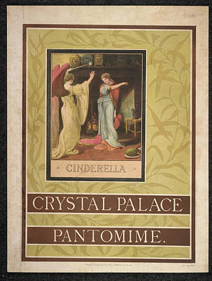 Cinderella Photograph - Crystal Palace by British Library