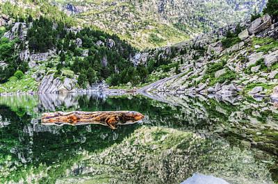 Crystall Water Art Print by Tilyo Rusev