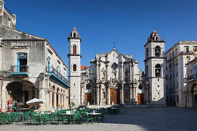 Cuba, Havana, Havana Vieja, Plaza De La Art Print
