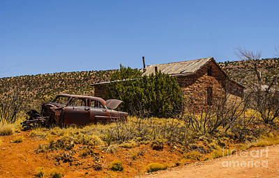 Photograph - Cuervo New Mexico Ghost Town 6 by Deborah Smolinske