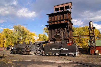 Photograph - Cumbres And Toltec Railroad by Robert Lozen