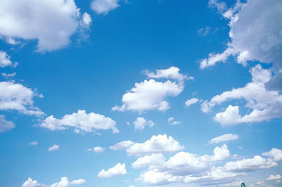 Cumulus Clouds Art Print by Panoramic Images