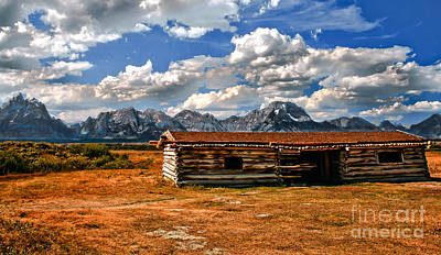 Log Cabins Photograph - Cunningham Cabin IIi  by Robert Bales