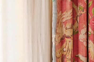 Curtains Art Print by Tom Gowanlock