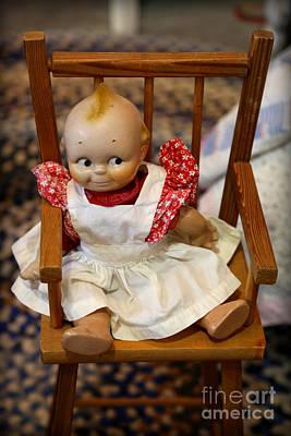 Photograph - Cute Cupie Doll by Carol Groenen