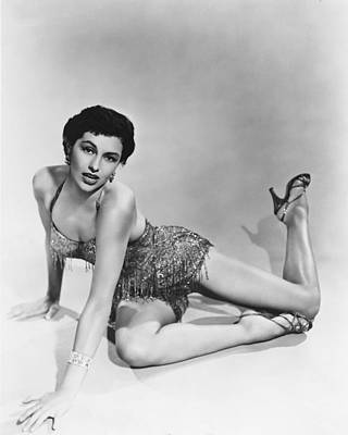 Cyd Charisse Print by Silver Screen