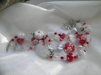 Sterling Silver Bracelet Jewelry - Daisy Days by Julie Wilson