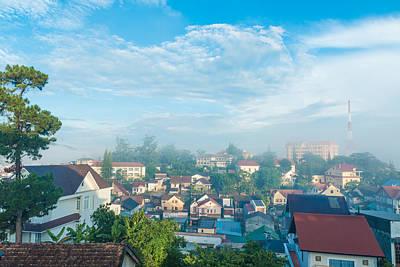 Dalat City View Vietnam Art Print by Nikita Buida