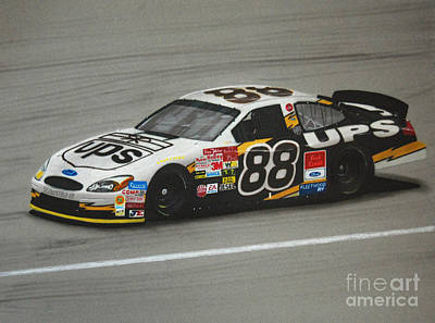 Dale Jarrett Ups Ford Original by Paul Kuras