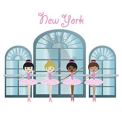 Dance And Ballet Art Print