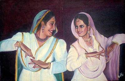 Bangles Painting - Dance by Shilpi Singh