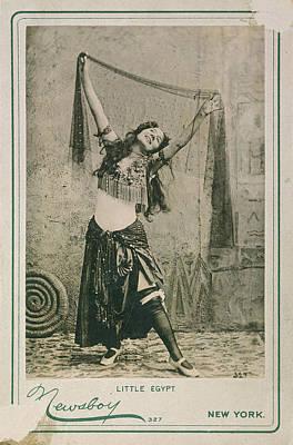 Dancer Little Egypt, 1893 Print by Granger