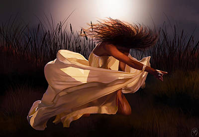 Digital Art - Dancing Soul by Kate Black