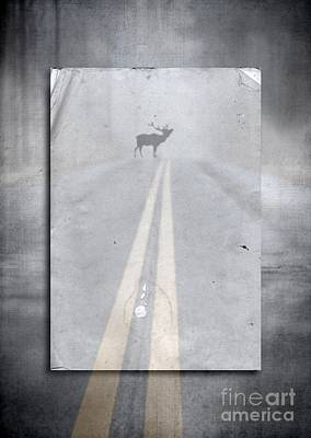 Danger Ahead Art Print