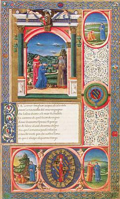 Purgatory Painting - Dante Purgatorio by Granger